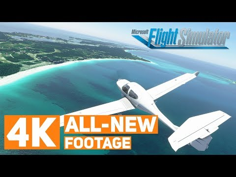 All-New Microsoft Flight Simulator Footage (4K) & Hands-On #fs2020