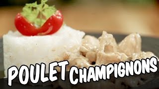Poulet-champignons - YouCook