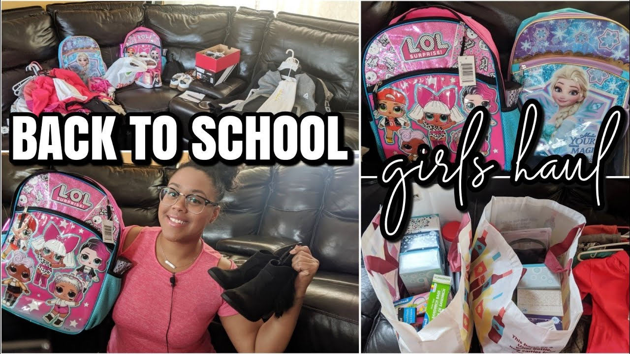 MY GIRLS BACK TO SCHOOL HAUL 2019?| CLOTHES, SUPPLIES, AND TIPS FOR MOMS 9