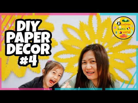 Paper Craft Ideas | Easy Steps | DIY Room Decor | Paper Decor| #04