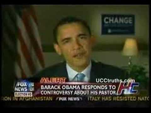 Obama on Fox about Jeremiah Wright, Trinity UCC
