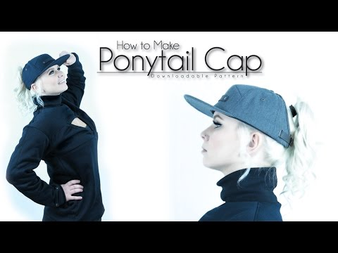 OFFICIAL | How To Make a Ponytail Hat NEW!