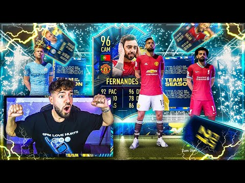 FIFA 21: Mein 25x 83+ PL TOTS PACK + XXL Lightning Rounds 😱🔥 Stürmer Icon PACK !!
