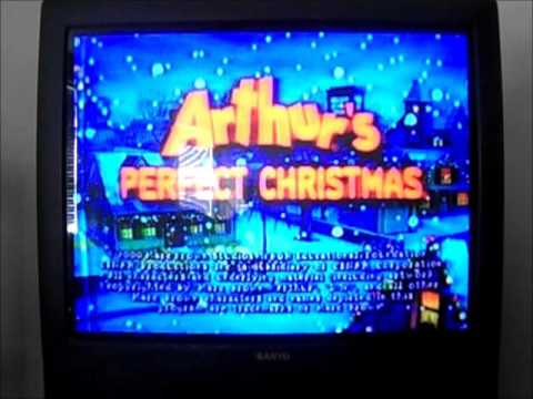 Opening and Closing To Arthur's Perfect Christmas 2000 VHS - YouTube