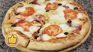 Итальянская Классическая Пицца, Быстрое Тесто! | Recipe for Сlassic Pizza