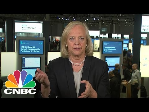 Hewlett Packard Enterprise CEO Meg Whitman: Unlocking Value | Mad Money | CNBC