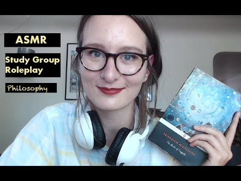 ASMR Study Group Roleplay/ Reading to You (Soft-Spoken)