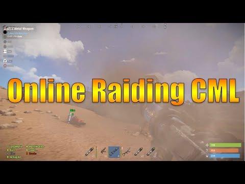 ONLINE RAIDING CML WITH 60 ROCKETS - Rust Zerg Raid thumbnail