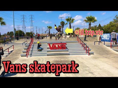 Vans Skatepark Huntington Beach ( Skate Sesh)