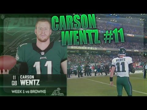 Carson Wentz Rookie Highlights (Weeks 1-3)