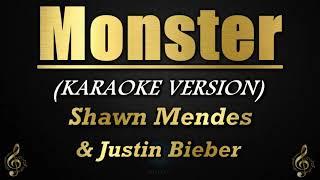 Download Monster - Shawn Mendes, Justin Bieber (Karaoke/Instrumental)