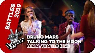 Bruno Mars - Talking To The Moon (Luana, Thapelo, Eske) | Battles | The Voice Kids 2019 | SAT.1