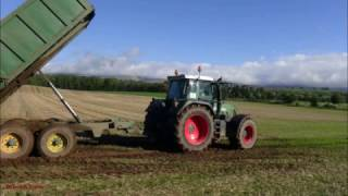 Beet-Lifting with New Holland and Fendt.