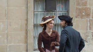 Poldark, Aidan Turner, Heida Reed, Cast & Crew Filming On Location In Wiltshire