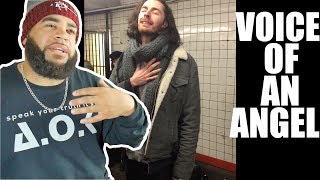 Is He Jesus - Hozier - Take Me To Church (Pop-Up Show in NYC Subway) - REACTION