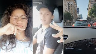 Zendaya Gets STUCK In Traffic With Tom Holland | FULL VIDEO