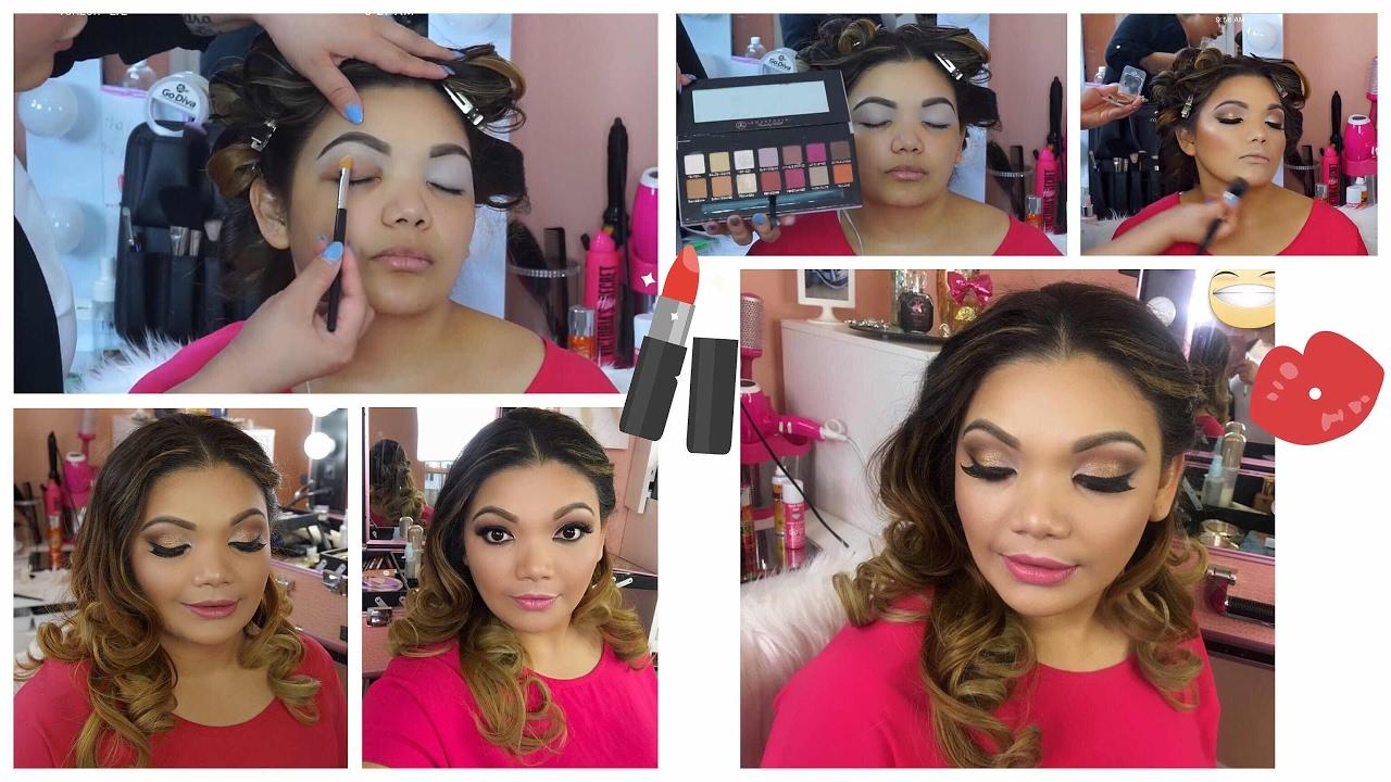 4875798c4 Clase De Maquillaje Básico / Aprende A Maquillarte Paso A Paso - YouTube