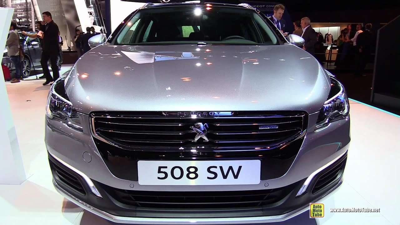 2015 peugeot 508 sw business pack diesel exterior interior walkaround 2014 paris auto show. Black Bedroom Furniture Sets. Home Design Ideas