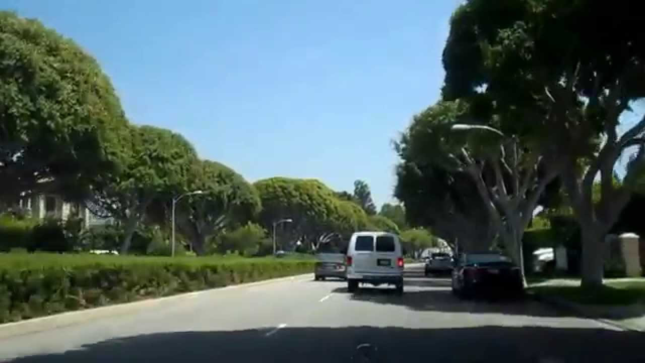driving tour of sunset boulevard from bel air to holmby hills to beverly hills  u0026 homes for sale