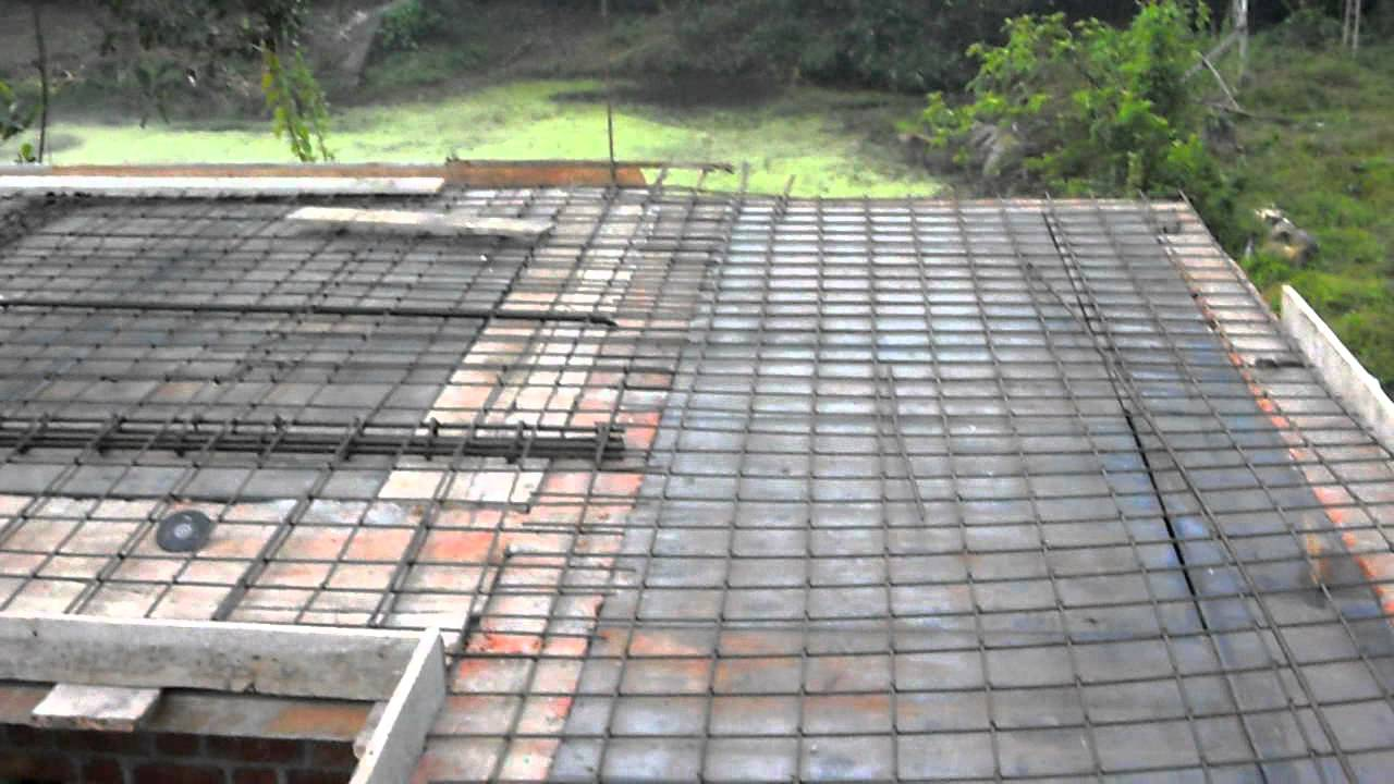 my home worker saji cheriyan rcc slab casting 20 jan 12 1 youtube - Slab Home Designs