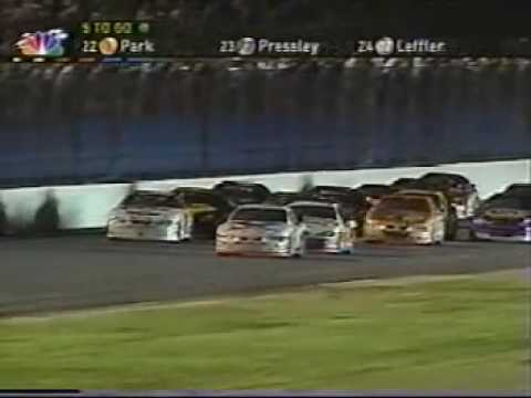 2001 Pepsi 400: The Finish
