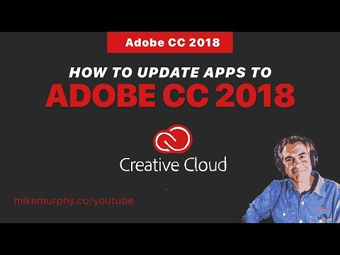 Adobe CC 2018: How To Update Apps