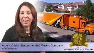 Allied Van Lines - Most Recommended Moving Company