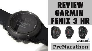 garmin Fenix 3 HR review al detalle