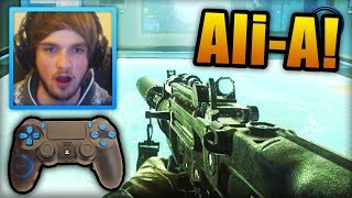 """NEW CONTROLLER!"" - Call of Duty: Ghost - LIVE w/ Ali-A! - (PS4 Gameplay)"