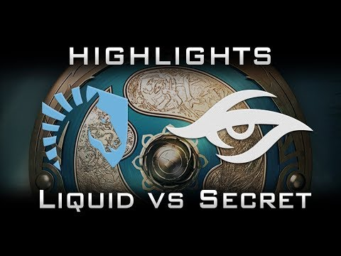 Liquid vs Secret TI7 Elimination Highlights The International 2017 Dota 2