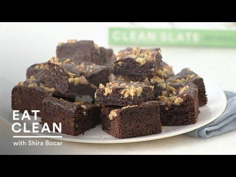 Gluten-Free Chocolate Walnut Brownies Eat Clean with Shira Bocar