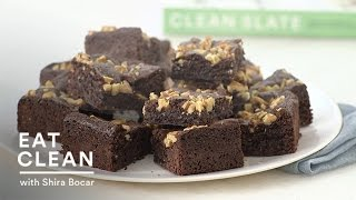 Gluten-free Chocolate Walnut Brownies - Eat Clean With Shira Bocar