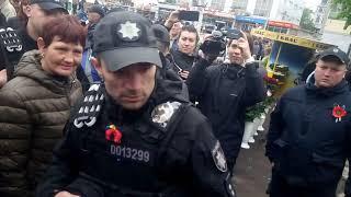 У Житомирі на 9 травня поліція вилучила комуністичну символіку