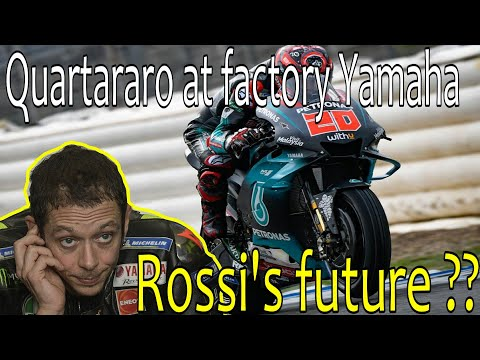 Quartararo joins at factory Yamaha for 2021-2022 / Rossi's future?