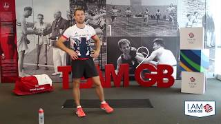 HIIT #2 with Leon Taylor | I Am Team GB