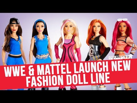 WWE & Mattel Launch New Fashion doll Line Featuring Female Superstars Of The WWE