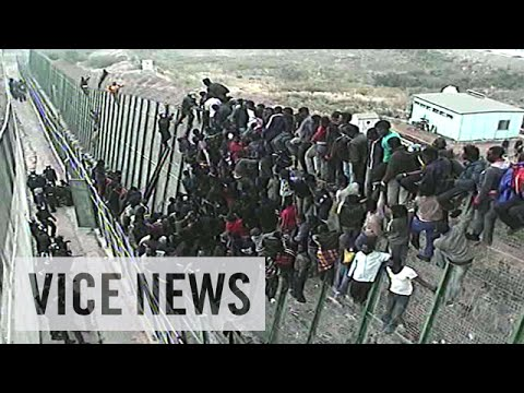 Storming Spain's Razor-Wire Fence: Europe Or Die (Episode 1/4)