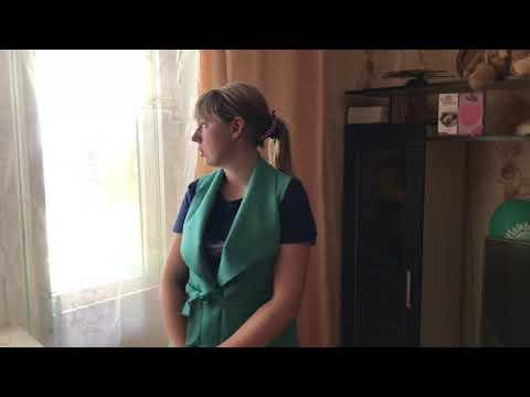 Рудня. Ольга Бикаева в новой квартире