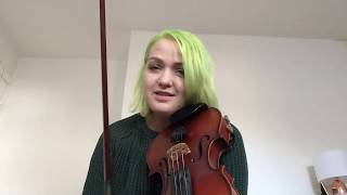 Violin with Amy Bache - technique for learning scales