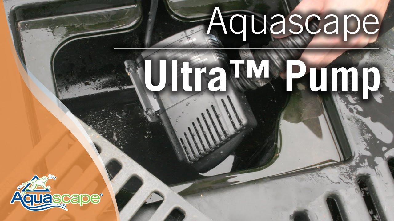 Aquascapeu0027s Ultra Pump