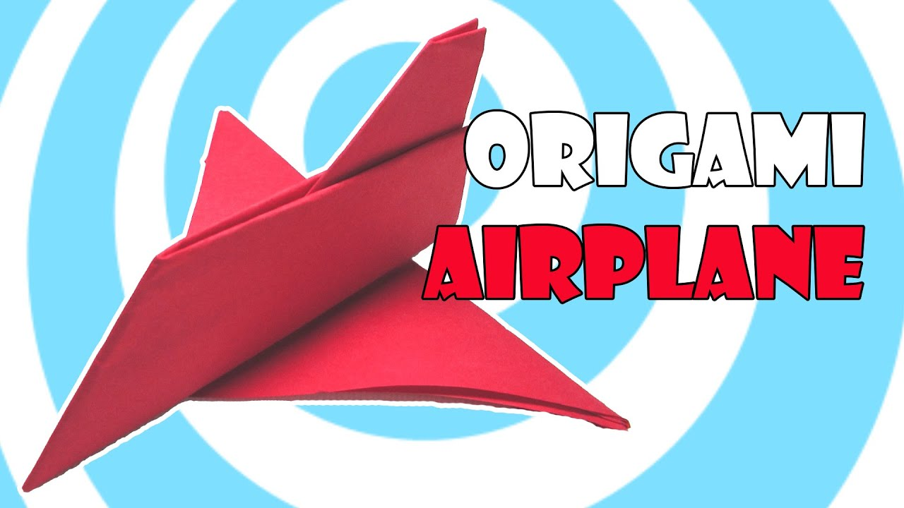 cool paper plane diagram harley evo oil pump origami airplane toy instructions origamite youtube