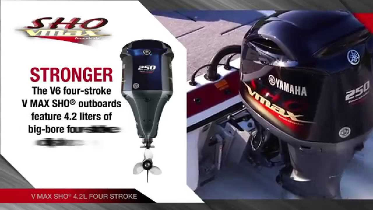 2015 yamaha vmax sho 4 stroke outboards youtube for How to winterize yamaha outboard