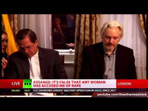 Julian Assange: I will leave Ecuadorian Embassy soon (FULL SPEECH) (Improved Audio)