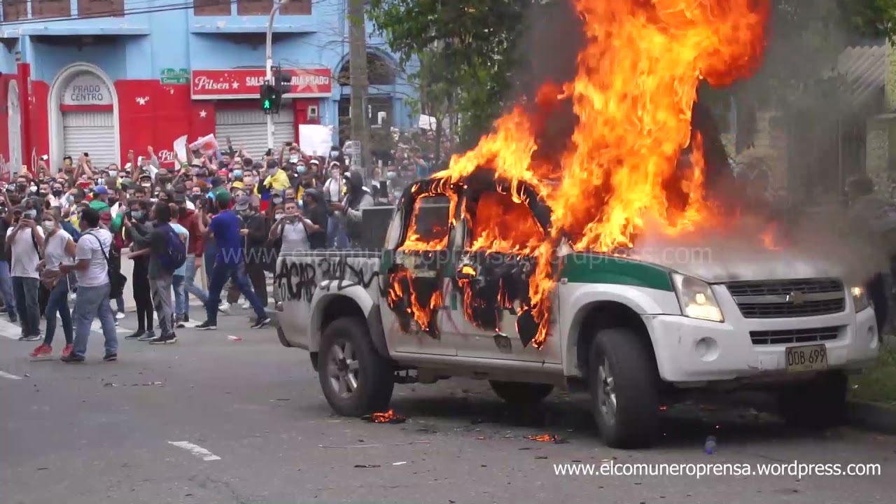 COLOMBIA - Video 1st of May and mass protests