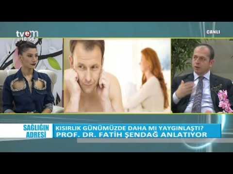 Prof. Dr. Fatih Şendağ kadınlarda kısırlık riskini anlatıyor Bölüm 2