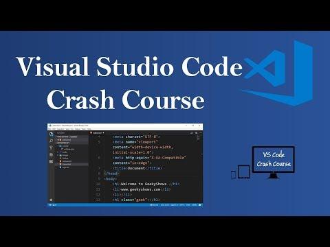 Visual Studio Code Crash Course (Hindi)
