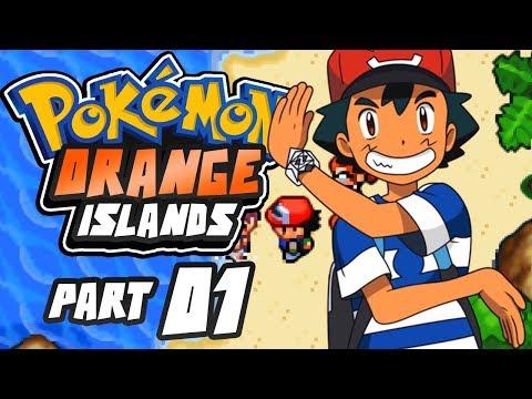 Pokemon Orange Islands Part 1 Professor Ivy GBA Rom Hack Gameplay Walkthrough