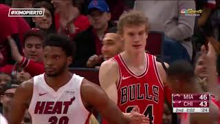 Miami Heat vs Chicago Bulls   Full Game Highlights   January 15, 2018   2017 18 NBA Season