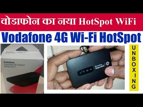 Vodafone SuperNet 4G WiFi Hotspot Unboxing || By Technology