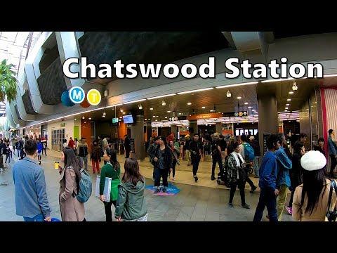 Chatswood Station = Sydney Metro + Sydney Trains
